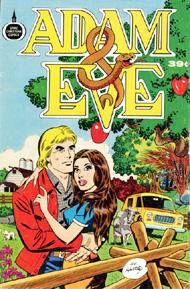 "Комикс ""Адам и Ева"" (Ал Хартли)"