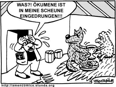 Аминь комиксы на немецком ja ja